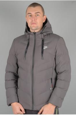 Зимняя Мужская спортивная куртка Nike (Nike-G-8016-2)
