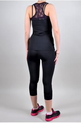 Спортивный костюм Adidas (Бриджи + майка) (4005-2)