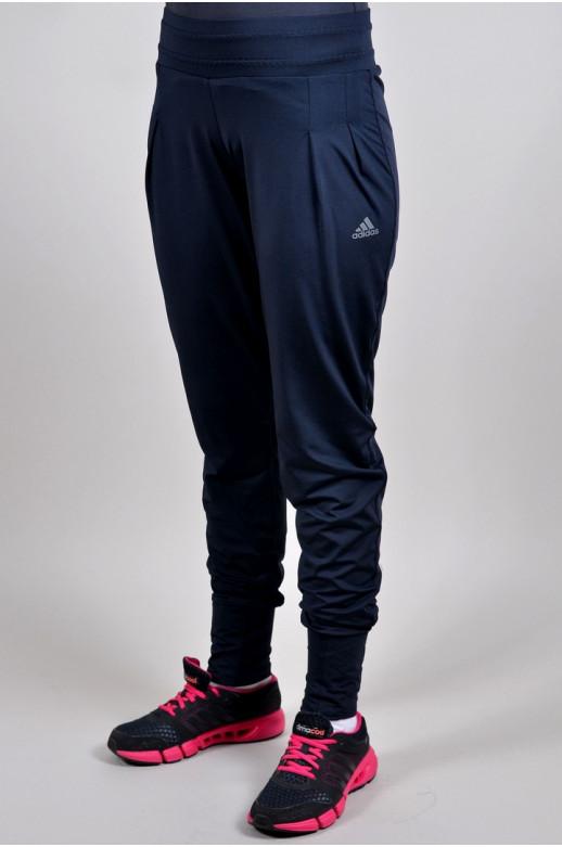 Спортивные брюки Adidas  на манжете летние (4611-1)
