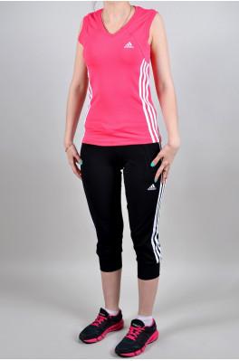 Спортивный костюм Adidas (Бриджи + майка) (4007-3)