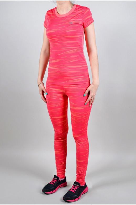 Спортивный костюм Adidas (Лосины + футболка) (4167-3)