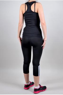 Спортивный костюм Adidas (Бриджи + майка) (4014-1)